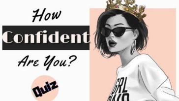 how confident are you quiz